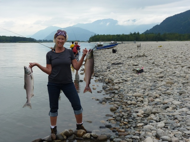 Sockeye, Spring & Proud Fisherwoman
