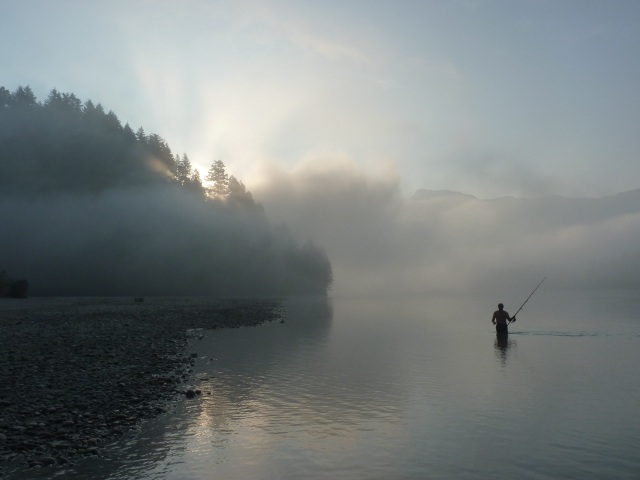 Early Morning on the Fraser River